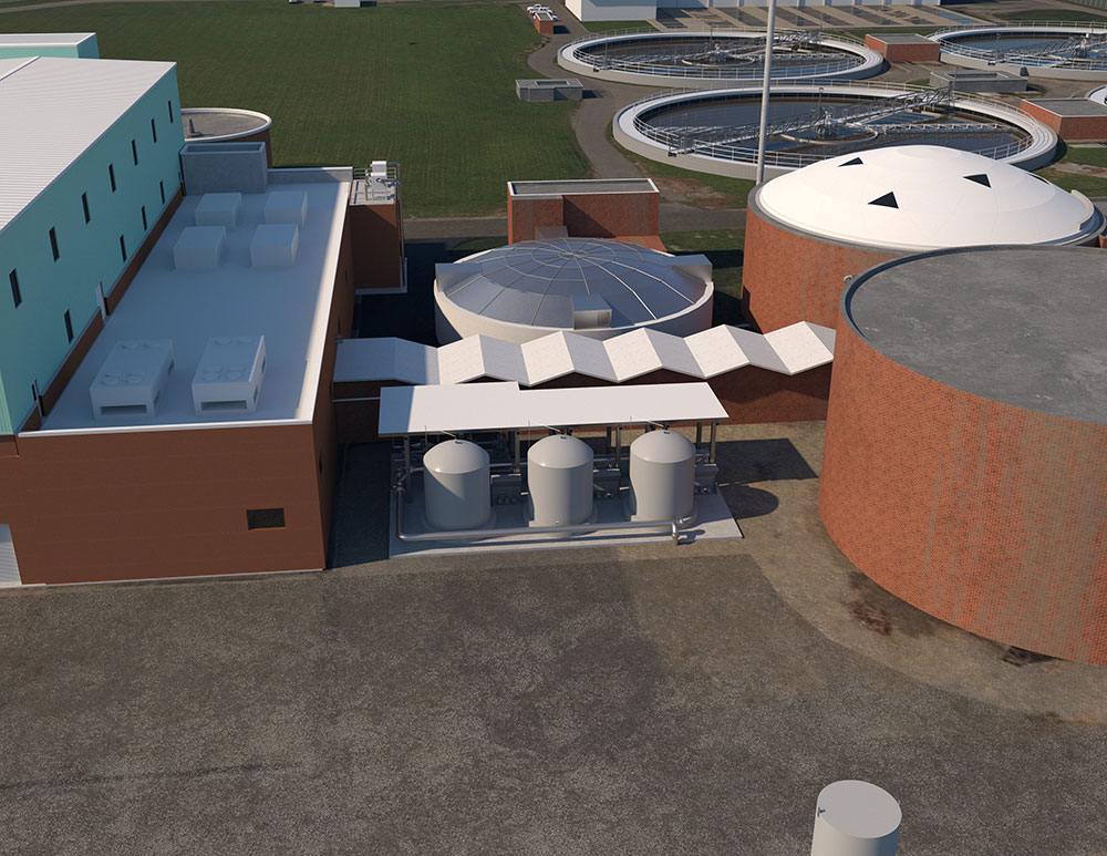 KC Water Celebrates the Construction of a New Waste Recovery System