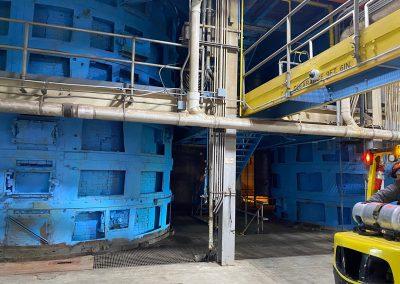 Decommissioned incinerators